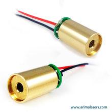 450nm 1mW 3V D8mm Blue Diode Laser Module, Glass Lens Fixed Focus Blue Laser Module for Medical Treatment