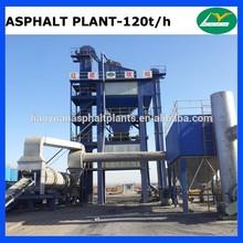 LB1500 high performance asphalt plant 120tph