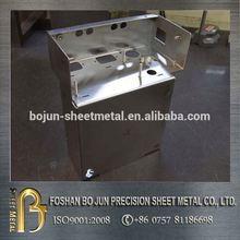 Stainless steel 316 304 sheet metal fabrication laptop housing