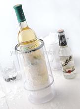 hot sales plastic wine bottle cooler