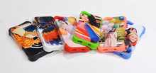 Dual-Protective 3D Phone Case for iphone5/5s / Silicone 3D polymer cell phone cases/ Sublimation blank phone cases