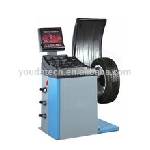 China portable cheap wheel balancer for sale, tire changer wheel balancer