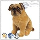Super Soft Fabric Cute Dog Plush Toy , Custom Plush Toys , mascot stuffed bulldog