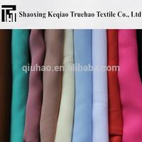 2015 new china supplier fashionable garments blouse 100% polyester 75d chiffon fabric chiffon