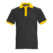 coloful beads pique fabric custom polo shirt