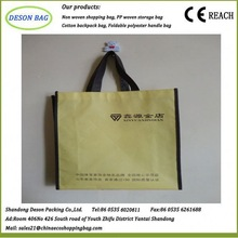 fashion recycle shopping tote promotional non woven wine bag