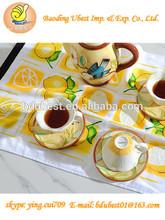 100% cotton towels design your own tea towel