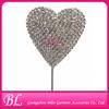 wholesale bulk heart shape cake topper for wedding decoration
