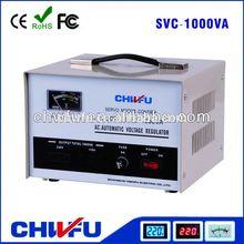 SVC- 1000VA pure copper coil automatic voltage regulator