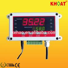 kh706d inalámbrico de pared tipo de temperatura y humedad indicador