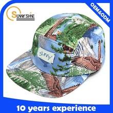 flat brim design your own 5 panel hat cap custom 5 panel hat wholesale
