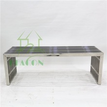 2015 outdoor stainless steel benches