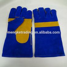 "blue welding glove elbow 14"""