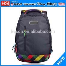 BSCI audited alibaba wholesale new design school bag for preschool students school bag