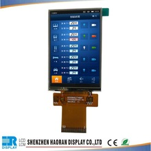 [ New Model ] 3.5'' Small TFT LCD Adjustable Monitor with RGB24bit interface For outdoor electronic dispaly
