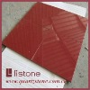 30x30cm red quartz flooring tiles,red quartz wall tile,red quartz floor tile
