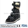novo estilo de couro médico ortopedista crianças calçados sandália