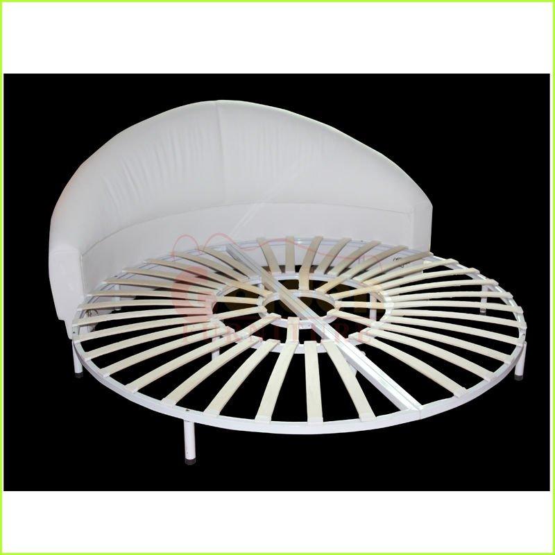 Modele De Lit En Bois Rond : Moderne en cuir t?te de lit pour lit rond-Literie-Id du produit