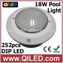 G298 AC12V 18w 252pcs DIP swimming pool led color changing lights