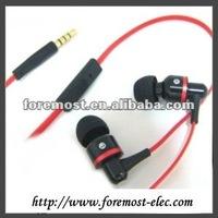 Aluminium Earphones for Apple Earphone