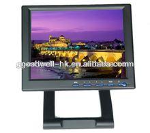Foldable 10.4 Industrial LCD with AV VGA HDMI DVI YPbPr input