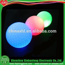 Manufacturer Accept Custom Logo Golf Ball Led Golf Ball for Practice Golf Ball