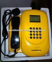 Anti-vandal gsm telephone set KT1000(52W) public SIM card phone