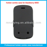 Mobile phone kickstand case for blackberry 9900