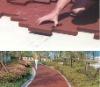 Outdoor Driveway Dog-Bone Rubber Flooring