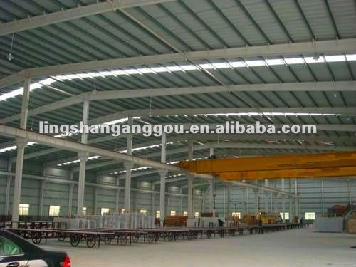 space frame steel structure workshop/Parking lot/car park