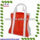 Pink Foldable Reusable Shopping Bag Manufactory