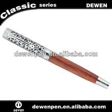 High grade dewen wooden roller ball pen as busines gift , wood roller pen