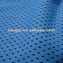 sport wear jersey circular mesh polyester knit fabric
