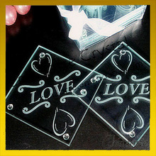 Wedding Favor Glass Coaster Gifts For Table Decoration