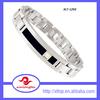 Wholesale High Grade Men's Titanium Bracelet Models, Titanium Bracelet 2015 in Silver