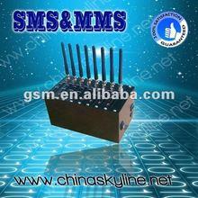 Support SIP/H.323 Wavecom modem 8 prts sim card gsm modem for send bulk sms/tc35 gsm modem