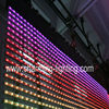 Outdoor Flexible Transparent LED Display Screen Aluminum + PC