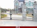 bella cornice in acciaio automatico cancello scorrevole recinzione