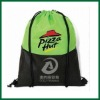 Pizza nut printed Wholesale drawstring bags