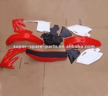 various dirt bike body parts year 2004 CRF250 motorcycle fairings for sale