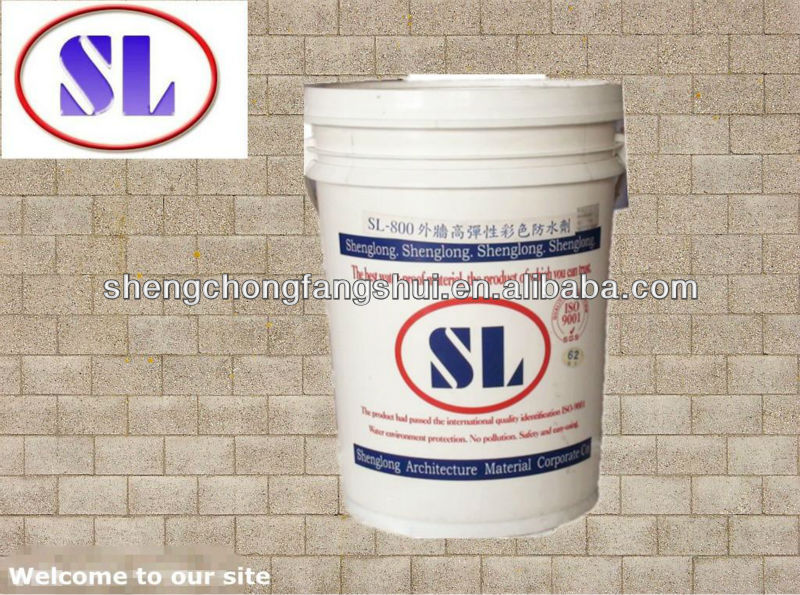 SL-800 Waterborne Flexible Colored Waterproof roof coating