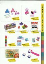 hot sell kids plastic stamper set