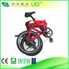 "20"" folding electric bike with lithium battery"