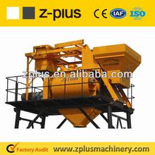 For 25m3/h concrete batching plant JS500 electric used concrete mixer on sale