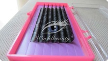 individual eyelashes extensions real fur worldbeauty brand beauty supplies
