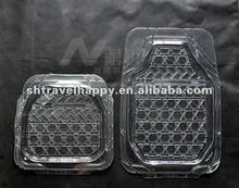 White PVC Car Foot Mats Auto Accessories MG064-S