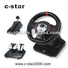 Video Game Steering Wheel PC Racing: Much Easier With A Steering Wheel! For xbox 360 steering wheel pedals