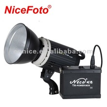 NiceFoto Outdoor flash TA series, AC & DC power supply, portable flash