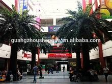 SJWS14061201 Guangzhou manufacturer hot sell garden landscaping decoratiion outdoor artificial poenix canary date palm tree