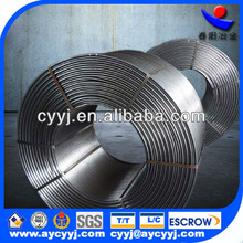 high purity low C P S CaSi Cored Wire in China